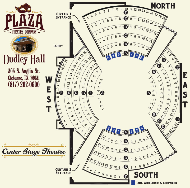 Dudley Hall Seating Chart