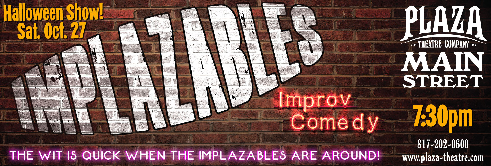 ImPLAZAbles Improv troupe